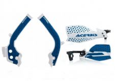 Acerbis Frame Cover X-Grip Husqvarna FC 250 450 16-18 X Ultimate HandGuards Blue